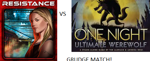 Grudge Match: Werewolf vs. The Resistance